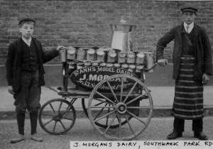 Bermondsey  Morgans Dairy Southwark Park Road